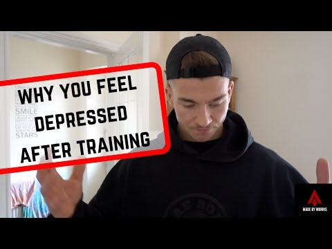 Why You Feel Depressed After Training
