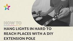 How To: Make Christmas Light Installation Pole