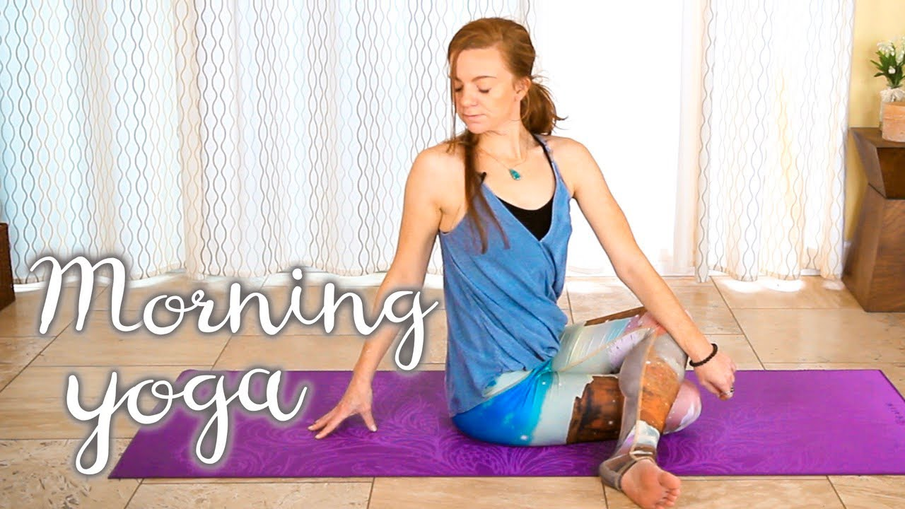 Morning Yoga for Beginners - 20 Minute Energizing Start Your Day Flow