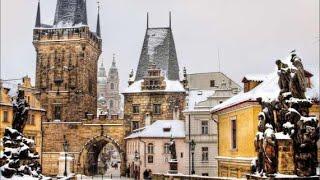 Прогулка по Праге зимой