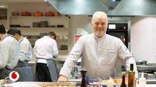 La clase magistral del chef Xavier Pellicer en una inducción invisible