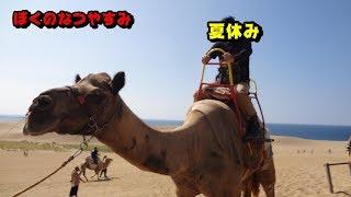 源助のツーリング日記 ride37 鳥取砂丘でラクダに乗る!編