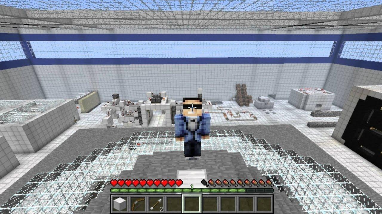 Parodie psy fait la dance du cheval sur minecraft sa donne quoi youtube - Cheval minecraft ...