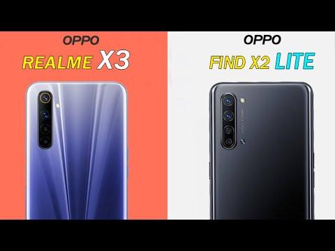 Realme X3 Vs Oppo Find X2 Lite Speed Test Camera Batter