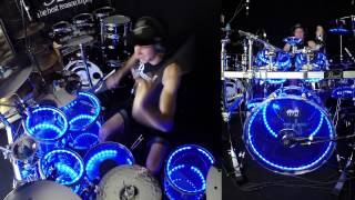 Taylor Swift - Blank Space - Drum Cover w/ Pearl Crystal Beat & Drumlite