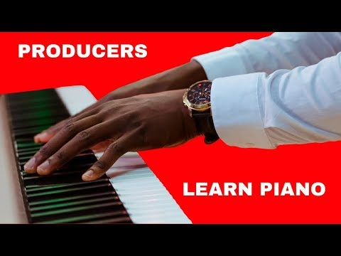 Learn To Play Piano 🎹  For Producers - Piano Lessons Online