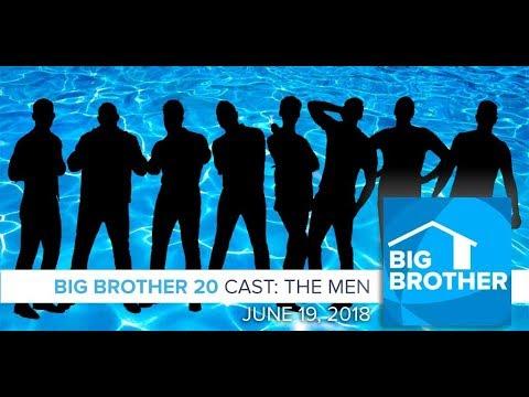 Big Brother  20  Cast P  Men