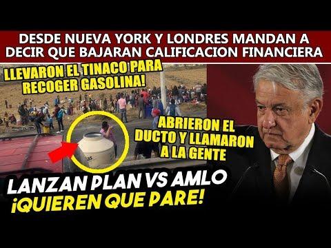 Obrador descubre un plan para detener la distribución de ga