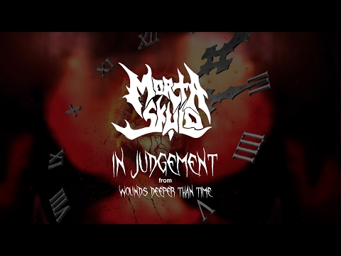 Morta Skuld - In Judgement (lyric video) (from Wounds Deeper than Time)