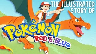 The Story of Pokemon Red & Blue - feat. BirdKeeperToby (Animated Storybook) - Video Games Retold