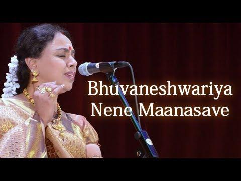 Bhuvaneshwariya Nene Maanasave - Sudha Raghunathan Live - Isai Ragam