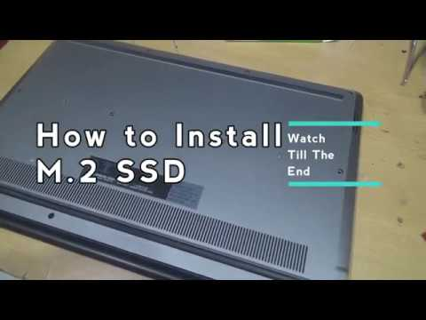 How to Install M 2 WD 2280 SSD on Dell Vostro 15 5568
