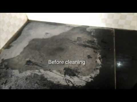 How to clean/remove hard/salt water stains from Sink top, tiles, Kitchen counter top in 10 minutes