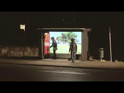 Ambient Marketing - Coca Cola Happiness Machine   Sweden