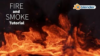 fire and smoke simulation tutorial - blender cycles