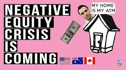 Real Estate SLOWDOWN in U.S and Australia! Negative Equity Crisis Approaching.