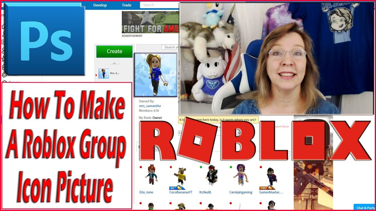 Make A Roblox Group Icon Picture With Photoshop Mrs Samantha