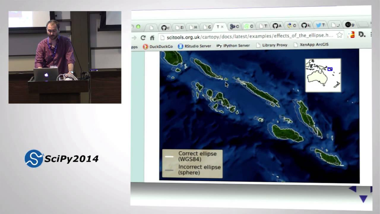 PyVideo org · Geospatial data in Python: Database, Desktop