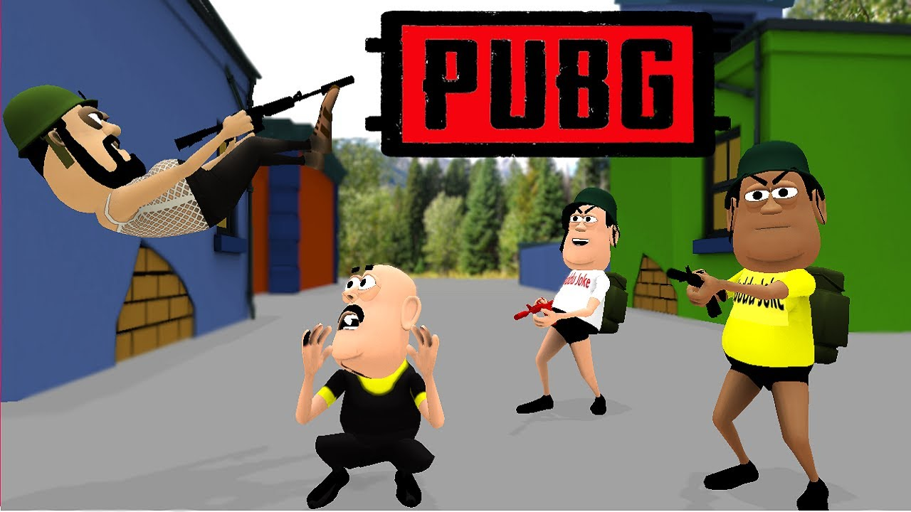 PUBG Comedy Video | पब जी कॉमेडी | Pubg Mobile Animation | Joke | Kaddu Joke Pubg Funny Comedy Video