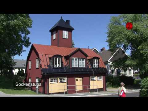 Sweden - The center of Vaxholm City