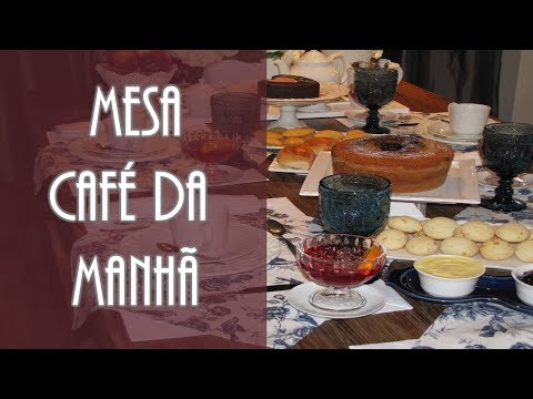 Mesa Café da Manhã