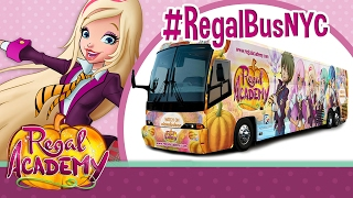 Regal Academy | The Regal Academy Bus takes Manhattan!