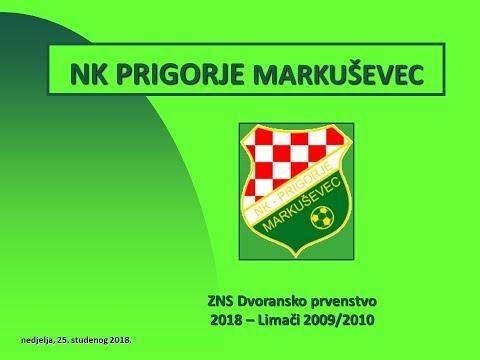 NK Prigorje Markuševec Limači 2009-2010 Sažetak golova ZNS 25 11 2018