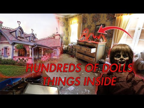 Abandoned Millionaires Mansion HAUNTED DOLLS LEFT INSIDE