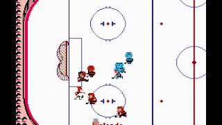 NES Longplay [309] Ice Hockey