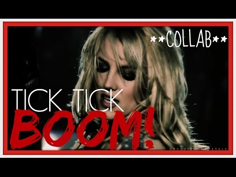 Britney Spears - Tick Tick BOOM! (2014 Collab REMIX Music Video)