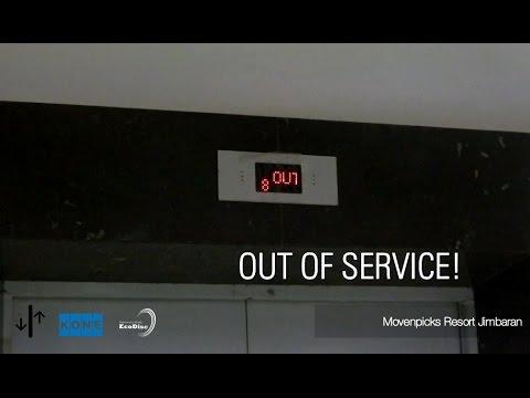 KONE MonoSpace Elevator - OUT OF SERVICE!