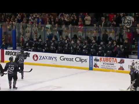 Liberty University Hockey Team Recreates the Vader Choke in the greatest bench showing ever