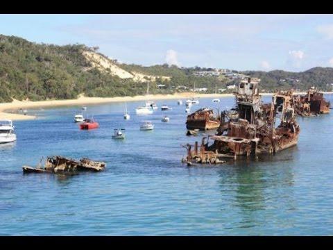 Moreton Island - The Island Of Sunken Ships HD 2014