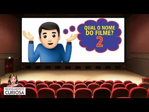 ADIVINHE O NOME DO FILME COM EMOJIS - PARTE 2
