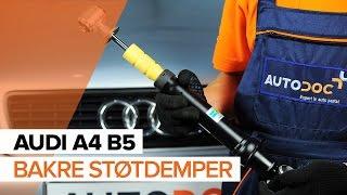 AUDI A4-videoveiledninger og reparasjonshåndbøker – hold bilen din i toppform