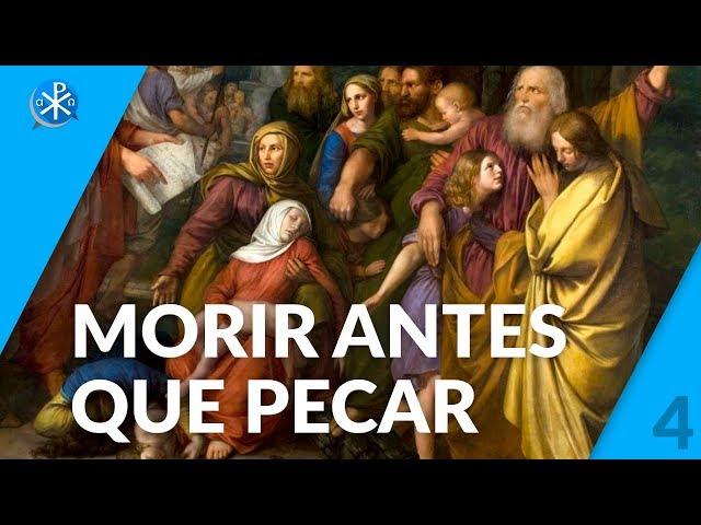 Morir antes que pecar   Perseverancia - P. Gustavo Lombardo