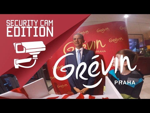 Grévin Prague - Security Cam Edition