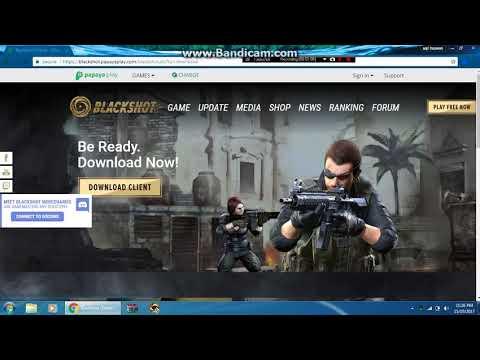 How To Download Blackshot Global -Malaysia!!