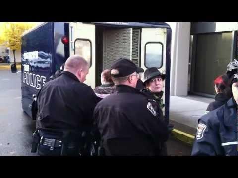 Occupy Eugene Arrests