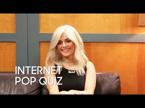 Internet Pop Quiz with Bebe Rexha