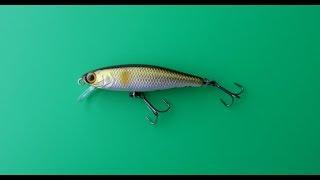 Видеообзор воблера - убийцы окуней - Jackall Tiny Fry 50 по заказу Fmagazin