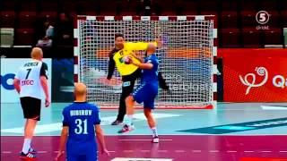 Heinevetter vs Igropulo ( 7 meters Qatar 2015)