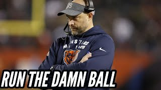 Matt Nagy's REFUSAL to Run the Football is Destroying this Offense || Chicago Bears Discussion