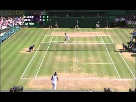 Roger Federer vs. Rafael Nadal - Finale Wimbledon 2006 - Highlights