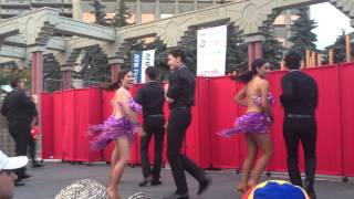 Salsa Dance Performance at Fiestival Latin Festival in Calgary 2013