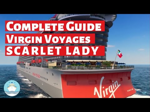 COMPLETE GUIDE To Virgin Voyages Scarlet Lady (2020)