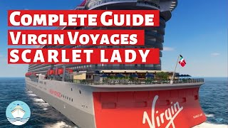 Virgin Voyages Scarlet Lady Exclusive Virtual Ship Tour