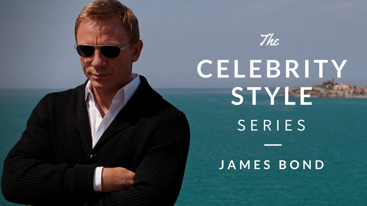 James Bond Style 02 - Celebrity Style Series W Real Men -3148