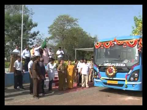 District Headquarters Amreli Gets City Bus Service On 1st May