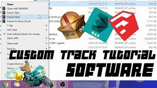 How to Make A Mario Kart Wii Custom Track | Tutorial: Part one - Software
